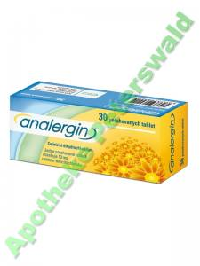 ANALERGIN 10 MG 30 TABLETTEN - CETIRIZIN