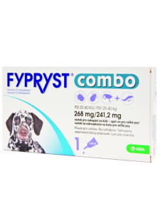 fypryst combo spot on hund 20 40 kg 3x pipette 268 mg. Black Bedroom Furniture Sets. Home Design Ideas