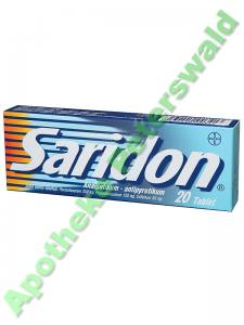 SARIDON 20 TABLETTEN