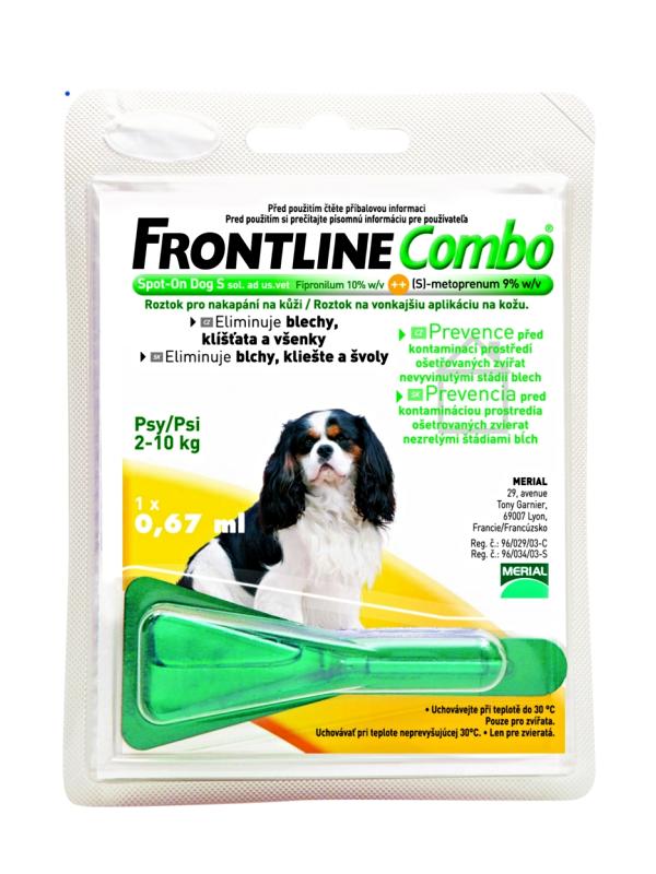 frontline combo spot on hund s 2 10 kg ml. Black Bedroom Furniture Sets. Home Design Ideas