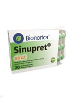 SINUPRET AKUT 160 MG 20 TABLETTEN